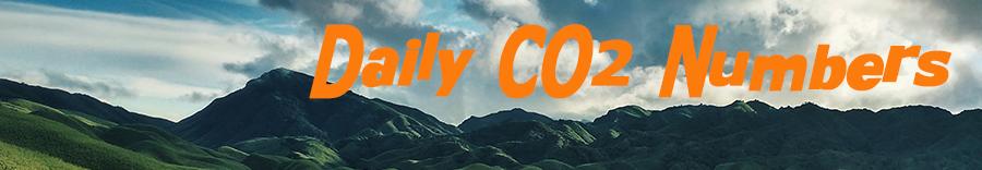 Banner Daily CO2 Числа cc0 Ариндам Саха 900