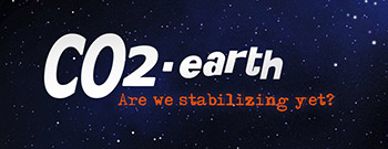 Duimnaelskets: CO2.Earth Banner