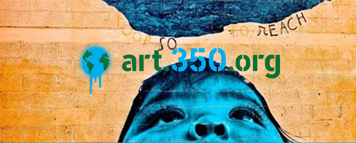350 Earth Art