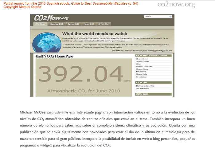 Guide co2now 2010 aux meilleurs sites de développement durable p94 copyright manuel quiros 700w