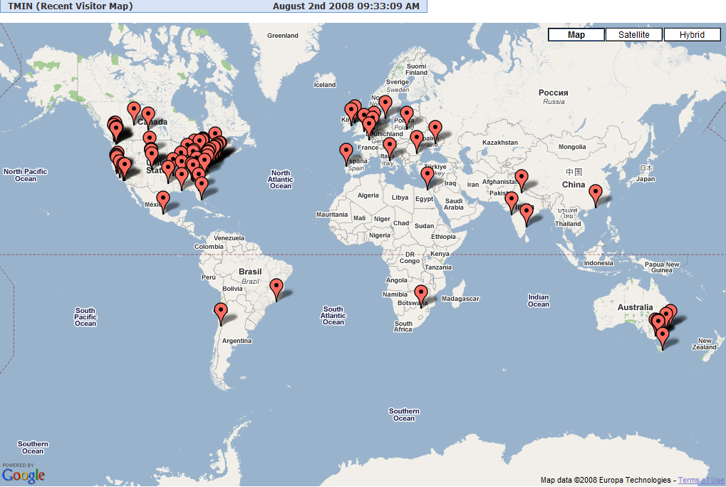 Recent Visitors as of August 2, 2008