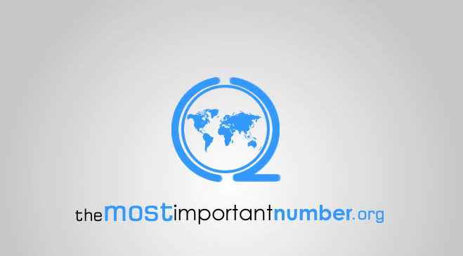 themostimportantnumber.org Logo (2008)